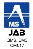 碓井鋼材株式会社 ISO JAB